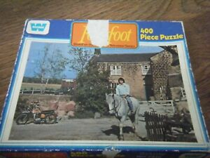 FOLLYFOOT TV SERIES 400 PIECE JIGSAW PUZZLE WHITMAN  NO 7415 YORKSHIRE TV HORSES