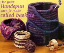 Spin-off magazine spring 2005: handspun coiled baskets, slippers, hat, bead rope