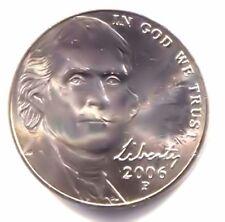 2006 P Jefferson Nickel - American Five Cent Coin - Uncirculated - Philadelphia