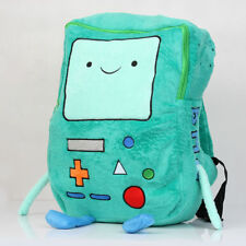 Adventure Time Plush BMO Beemo Game Plush School Backpack Bag 13 inch
