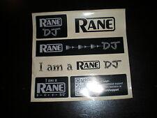 Official Rane Custom  DJ Sticker Sheet NICE !!!!