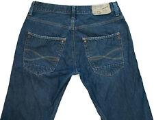 RIVER ISLAND Slouch Boot Leg  Blue Denim Jeans  W32 L33
