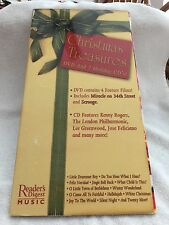 VINTAGE READERS DIGEST 2006 MUSIC CHRISTMAS TREASURES INCLUDING DVD / 2 CD -USED