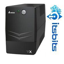 DELTA VX UPS 600VA 360W LINE INTERACTIVE AGILON FAMILY 2 OUTLETS + USB SOFTWARE
