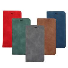 Tarjeta de cuero con cierre magnético soporte para Folios Para Huawei P20 P30 Lite Xiaomi Mi 9 LG G8 G8S