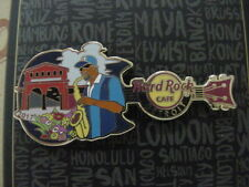 HARD ROCK CAFE*CHICAGO,ILLINOIS*MARKET SAX PLAYER*PIN*VERY NICE* NEW