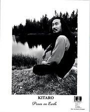 RARE Original Press Photo of Kitaro Peace on Earth Christmas Album
