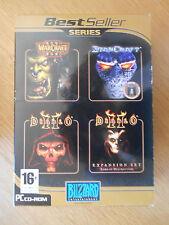 Coffret Blizzard : Warcraft III + Starcaft + Diablo II /Jeux PC