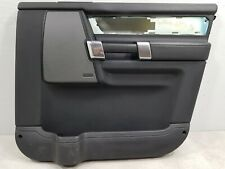 LAND ROVER DISCOVERY 4 FRONT DRIVER SIDE OFFSIDE FRONT DOOR CARD BLACK LEATHER