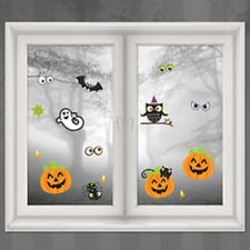 Halloween Family Friendly Large Cute Window or Mirror Decorations Clings