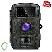 APEMAN 12MP 1080P Trail Wildlife Camera Trap with Infrared Night Vision Scouting