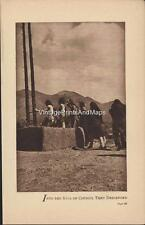 "1909 Edward Curtis Photogravure Flute of the Gods ""Into the Kiva of Council..."""