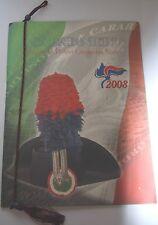 CALENDARIO STORICO Sezione Polizia Giudiziaria CARABINIERI anno 2008 - procura