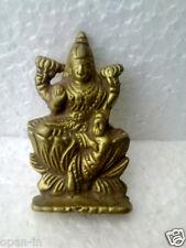 Old Goddess Laxmi Brass Statue / Idol Collectible