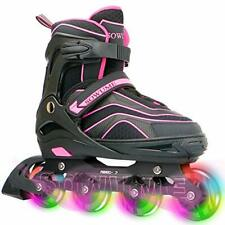 New listing Sowume Adjustable Roller Blades Skates Girls Boys and for Kids Adults Outdoor...