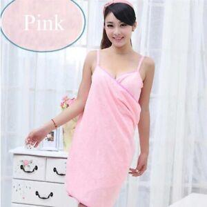 Bath Wearable Towel Dress Women's Lady Fast Drying Beach Spa Magical Nightwear S