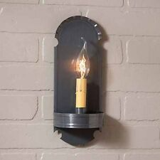 Foot Sconce Single Arm in Country Tin by Irvin's Country Tinware