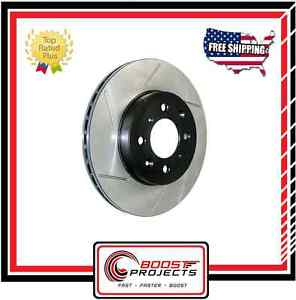 StopTech Front - Right Side Sport Slotted Brake Rotor Fits Lexus GS300 / IS300