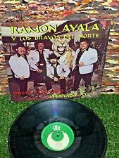 RAMON AYALA Y LOS BRAVOS DEL NORTE Triste Recuerdo LATIN NORTEÑO TEJANO 1986 LP