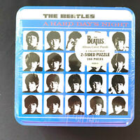 The Beatles 2 Sided Puzzle Album Cover Hard Days Night 300 Pieces New In Tin