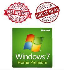 Windows 7 Home Premium 32/64 Bit Original Lizenzschlüssel und Dell DVD