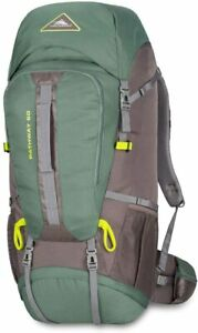 High Sierra Pathway Hiking Backpack 60L Pine/Slate/Chartreuse 79548-5744