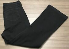 NYDJ Not Your Daughters Jeans Womens Stretch Straight Lift Tuck Sz 14 35W x 28L