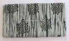 5 Yard indian Hand Block Print 100% Cotton Tiy DyD Design Dabu fabric M#352