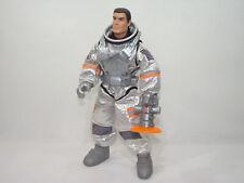 Figurine Action Man Astronaute Cosmonaute Hasbro laser Espace Combinaison Argent