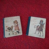 Rare livres enfantina XIX ème siècle illustrations chromolithographies bon état!