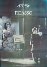 MYSTERY OF PICASSO German A1 movie poster R88 PABLO PICASSO CLOUZOT DOCUMENTARY