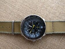 Seiko Flightmaster SNA411P1 Pilot Chronograph with alarm in lovely condition