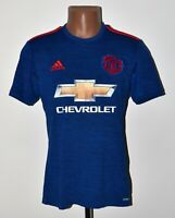 MANCHESTER UNITED 2016/2017 THIRD FOOTBALL SHIRT JERSEY ADIDAS SIZE S ADULT