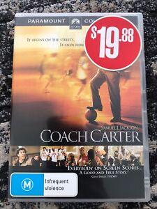 Coach Carter DVD  (Samuel L Jackson & Ashanti) Region 4