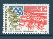 TIMBRE N° 2477 NEUF XX LUXE -ENTREE EN GUERRE FORCES AMERICAINES - Gal PERSHING