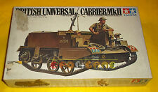 BRITISH UNIVERSAL CARRIER MKII (Mk II 2) 1/35 Series No.89 - COME NUOVO