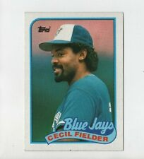 1989 Topps #541 Cecil Fielder Toronto Blue Jays Baseball Card