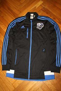 ADIDAS Montreal Impact Soccer Track Anthem Jacket Black size S