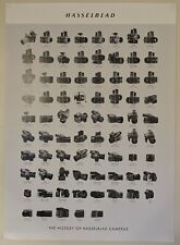 Hasselblad History Of Cameras Poster, 27.5 x 19.75 in