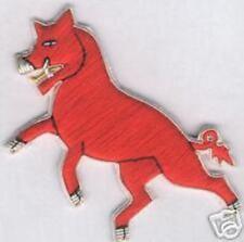 Medieval Heraldry Knight Family Wild Boar Pig Arms Symbol Rampant Coa Patch Hog