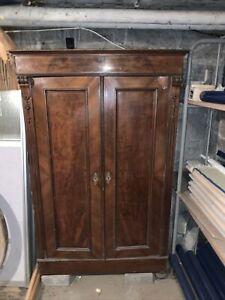 Antiker  Schrank ,Wohnzimmerschrank