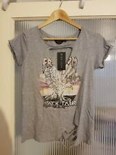 Size 8 grey newlook top BNWT RRP £12.99