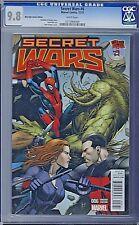 SECRET WARS (2015) # 6 Mile High Comics Variant Cover CGC 9.8