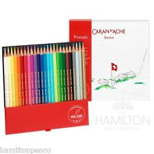 CARAN D'ACHE PRISMALO 100 YEAR ANNIVERSARY water soluble colour pencil set