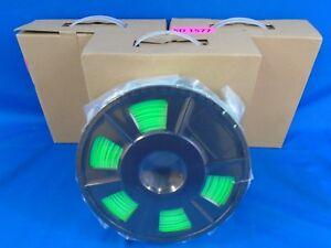 3x Monoprice Premium 3D Printer Filament PLA 3MM 1kg/spool Bright Green 11050
