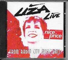 CD ALBUM LIVE 17 TITRES--LIZA MINNELLI--FROM RADIO CITY MUSIC HALL--1992