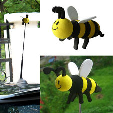Cute Smiley Honey Car Antenna Aerial Ball Topper Truck SUV Pen Decor Gift Toy