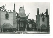 B82417 China Chinese Theatre in Hollywood perfect shape front/back image
