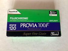 Fuji Fujichrome PROVIA 100F color reversal film RDPIII 120 - 5 rolls -  exp.2012