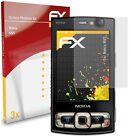 atFoliX 3x Screen Protector for Nokia N95 Screen Protection Film matt&shockproof